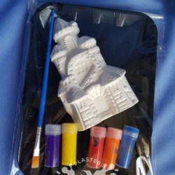Princess Castle Plaster Painting Gift Pack