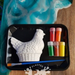 Chicken Plaster Painting Gift Pack