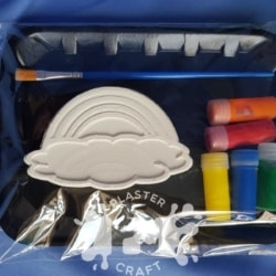 Rainbow Plaster Painting Gift Pack