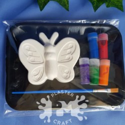 Butterfly Plaster Painting Gift Pack