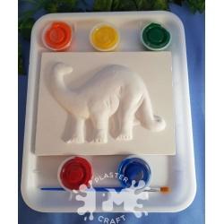 Brachiosaurus Plaster Painting Gift Pack