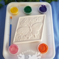Butterfly Diamond Plaster Painting Gift Pack