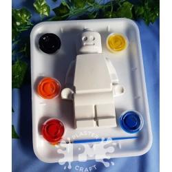 Block Man Plaster Painting Gift Pack