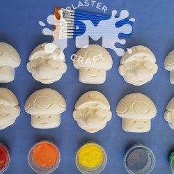 Super Gaming Characters Bulk Plaster Painting Pack- 10, 12 0r 20 Pack