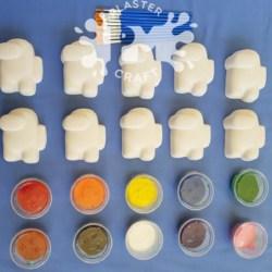 Crewmate Bulk Plaster Painting Pack- 10, 12 0r 20 Pack
