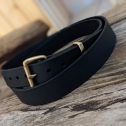 Australian leather traditional belt