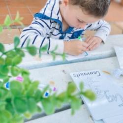 Kids Australian Colour & Wipe Alphabet Cards