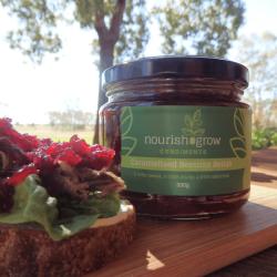Caramelised Beetroot Relish – Gluten Free – Condiment