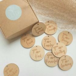 Set of Positive Affirmation Discs
