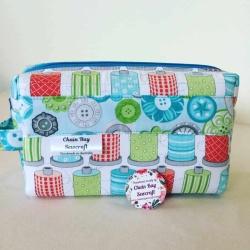 Handmade Craft Box Bag – Cotton Spools