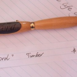 Hand Crafted Timber Ford Pen