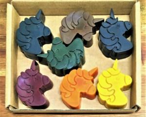 unicorns, crayons, natural, kids activity