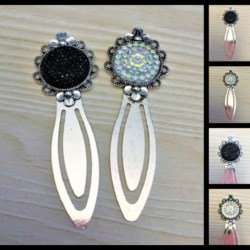 Vintage Style Silver Bookmarks / Small Letter Openers – 2 Colours