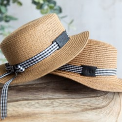 Althea Adult Boater Hat