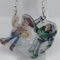 'Buzz and Woody' from Toy Story Earrings