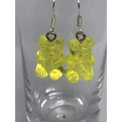 Yellow Gummy Bears Earrings