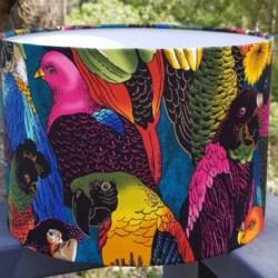 Beautiful birds lampshade -Statement piece
