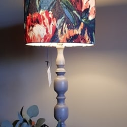 Protea Lampshade – handcrafted in Bermagui