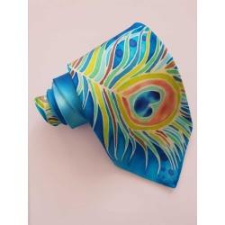 Handpainted silk tie – Bedazzle