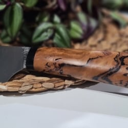 Hand forged kitchen knife (free postage)