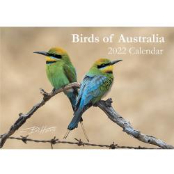 2022 Annual Calendar Australian Birds A4