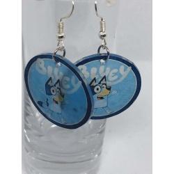 Bluey Earrings – Blue