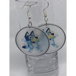 Bluey Earrings – Cloudy