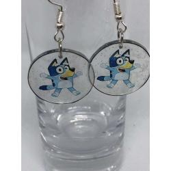 Bluey Earrings – Clear