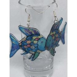 Rainbow Fish Earrings