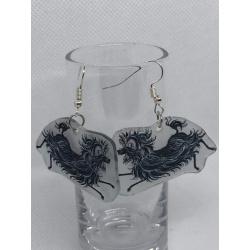 Hairy Maclary Earrings