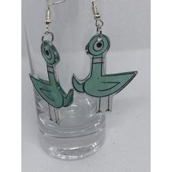 Pigeon Earrings