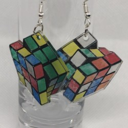 Rubix cubes Earrings