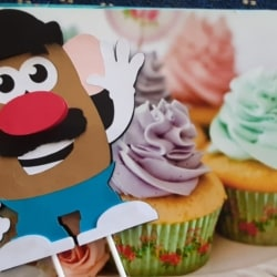 Mr Potato Head, Cake Toppers, Party Decoration