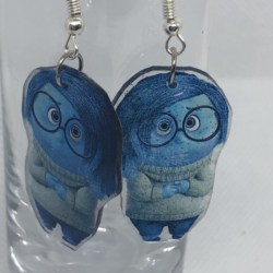 Sadness (Inside Out) Earrings