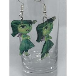 Disgust (Inside Out) Earrings