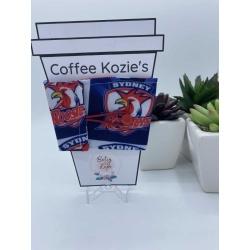 Coffee Kozie – NRL Roosters