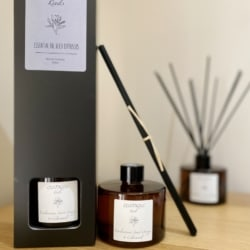 Essential oil reed diffuser – Amber 200ml