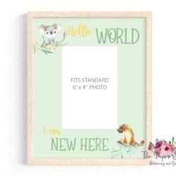 Hello World Photo Frame