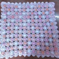 Daisy Wheel Baby Blanket