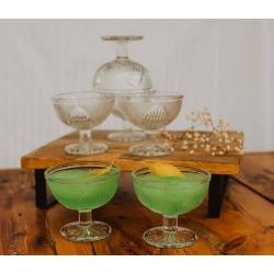Funky Vintage/Retro Cocktail Glasses