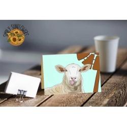Barbara the Sheep Print