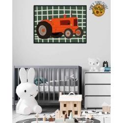Tootin' Tractor Print