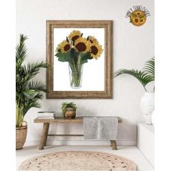 Simply Sunflowers Print
