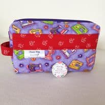 Handmade Craft Box Bag – Vintage Sewing Machines
