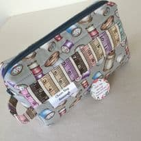 Handmade Craft Box Bag – Vintage Cotton Spools