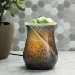 Large Melt Burner – OBSIDIAN GLASS ILLUMINATION WARMER