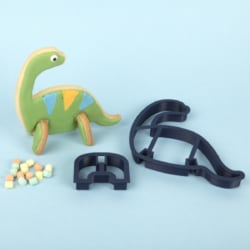 Brontosaurus 3D Standing Cookie Cutter