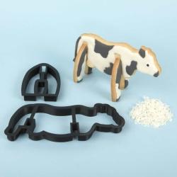 Cow 3D Standing Cookie Cutter
