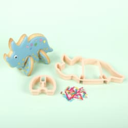 Triceratops 3D Standing Cookie Cutter