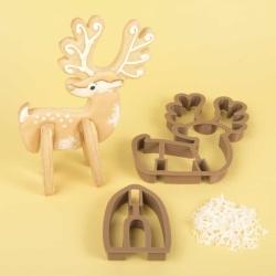 Reindeer 3D Standing Cookie Cutter
